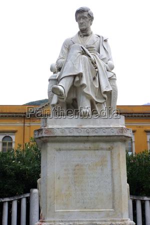 pellegrino rossi carraresi monument in piazza
