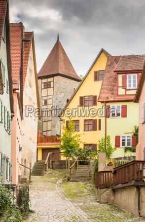 historic old town of dikelsbuehl