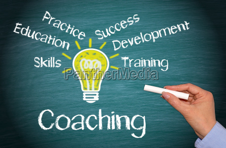 coaching business concept