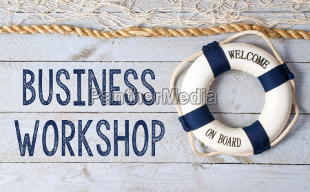 business workshop welcome on board