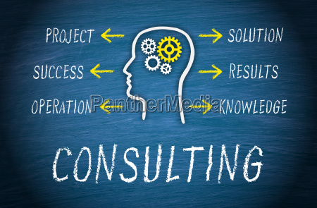 consulting business concept