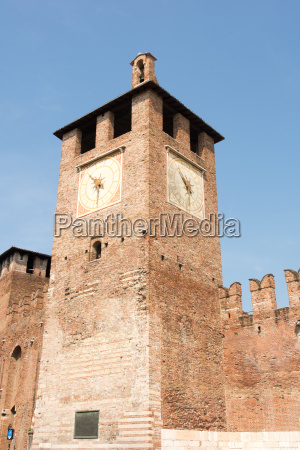 tower of castelveccio in verona