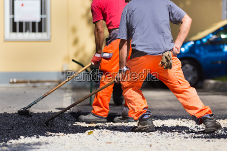 asphalt surfacing manual labor