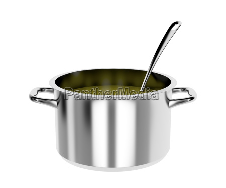 cooking pot and ladle
