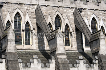 detail of christ church cathedral in
