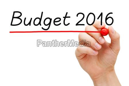 budget year 2016