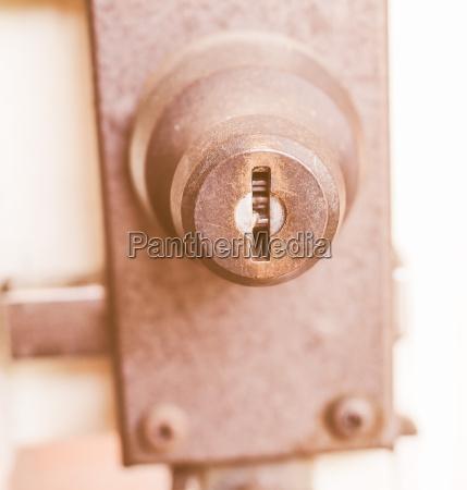 safety lock vintage