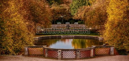 parkland ballenstedt harz in autumn