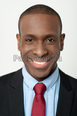 handsome young professional