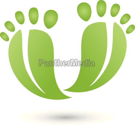 two feet as leaveslogoservice