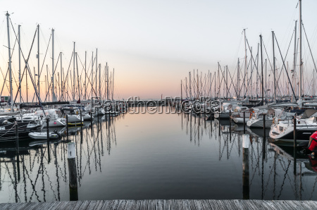 val gardena port przystan przy sunrise