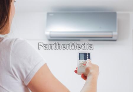 air conditioner adjustment