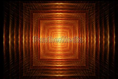 fractal image light at the end