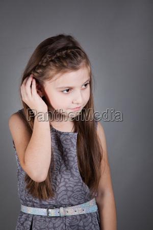 8 year old girl