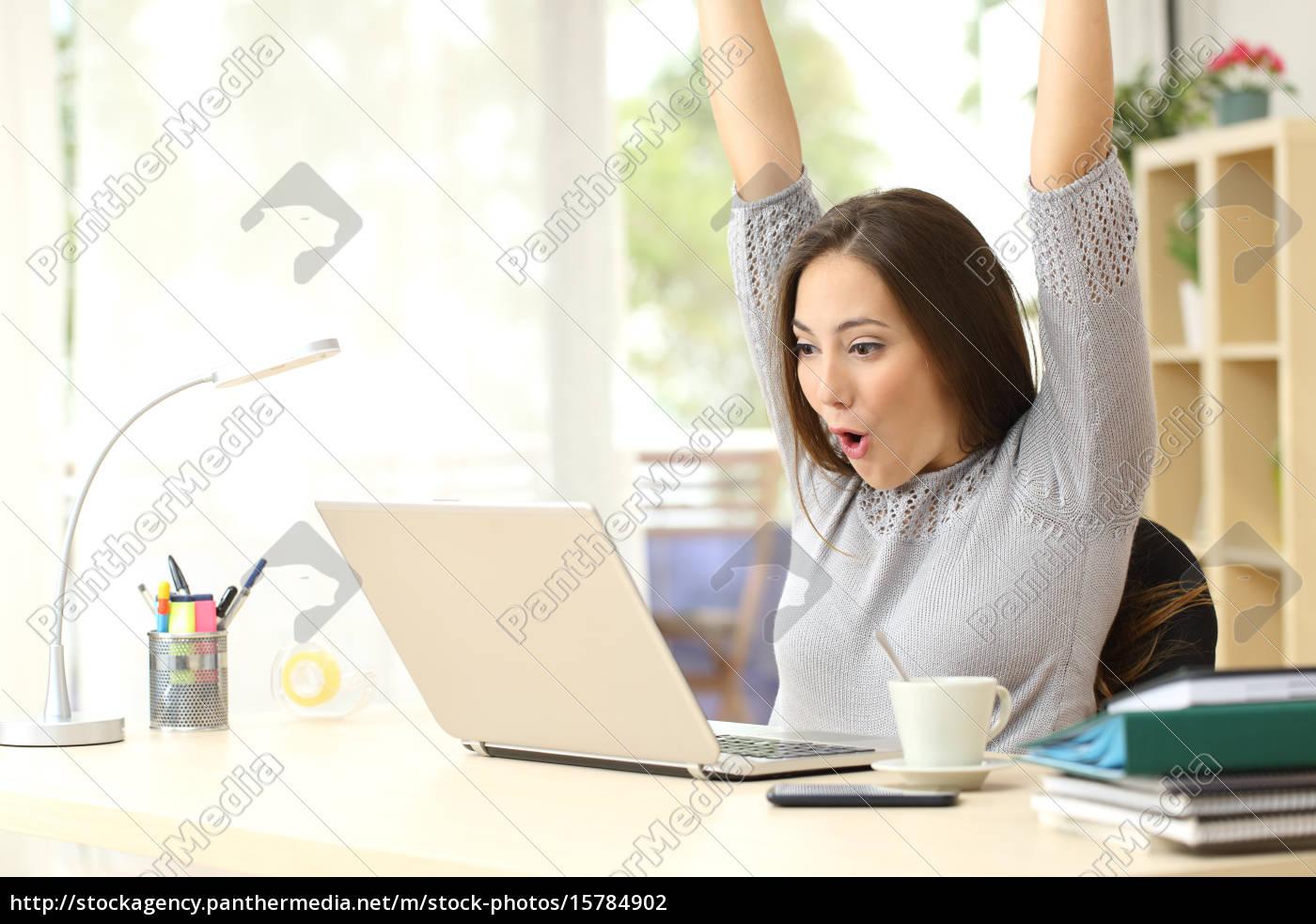 euphoric, and, surprised, winner, winning, online - 15784902