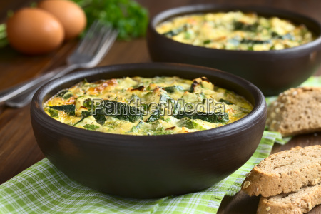 zucchini, frittata - 15784976