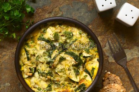 zucchini, frittata - 15784986