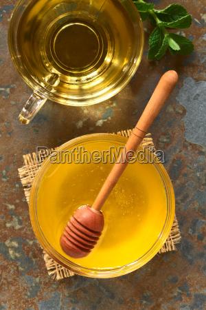 honey, and, herbal, tea - 15785010