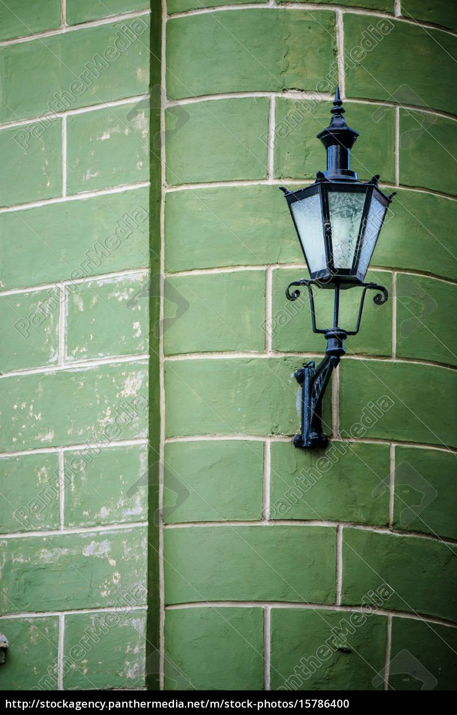 beautiful, lantern, on, a, wall, of - 15786400
