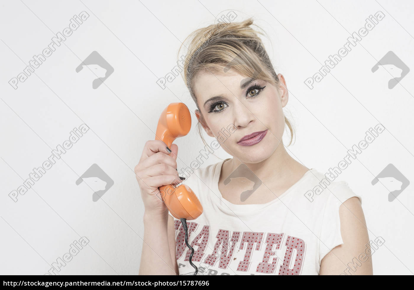 blonde, on, the, phone - 15787696
