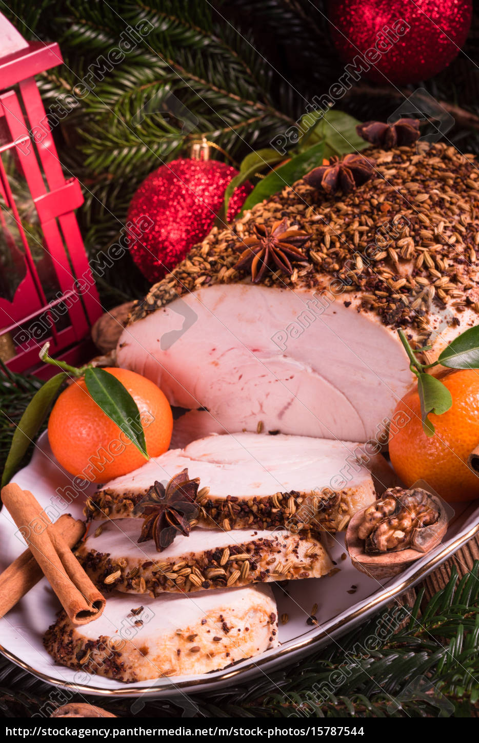 christmas, roast, turkey - 15787544