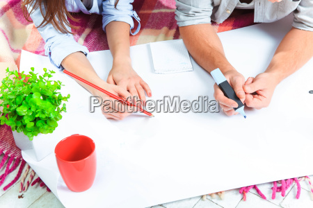 the, hands, of, , family, - 15787278