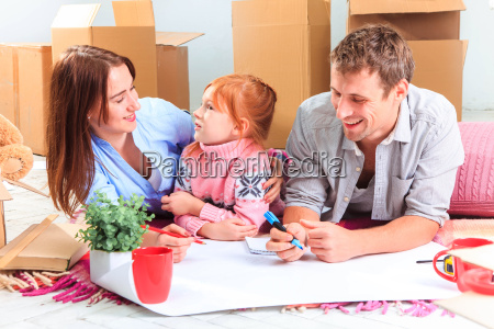 the, happy, family, , during, repair - 15787280