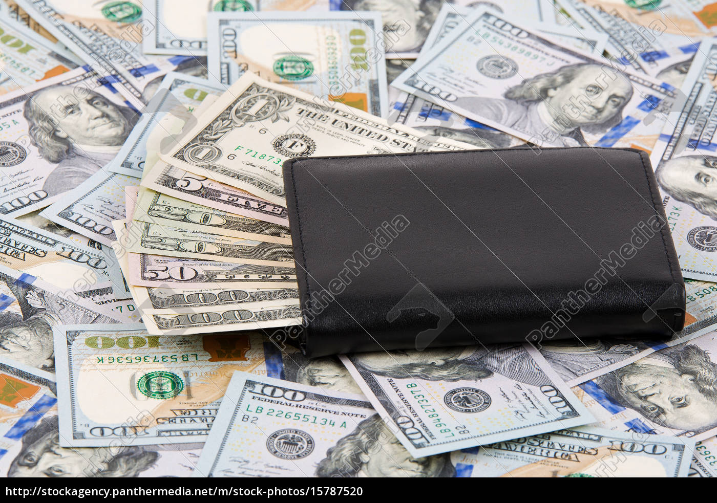 wallet, with, american, dollars, - 15787520