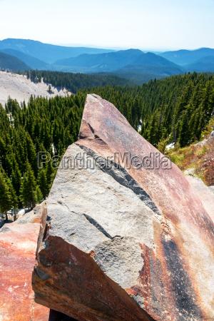 large, boulder, on, mt, hood - 15788516