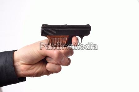 hand, with, a, gun - 15789922