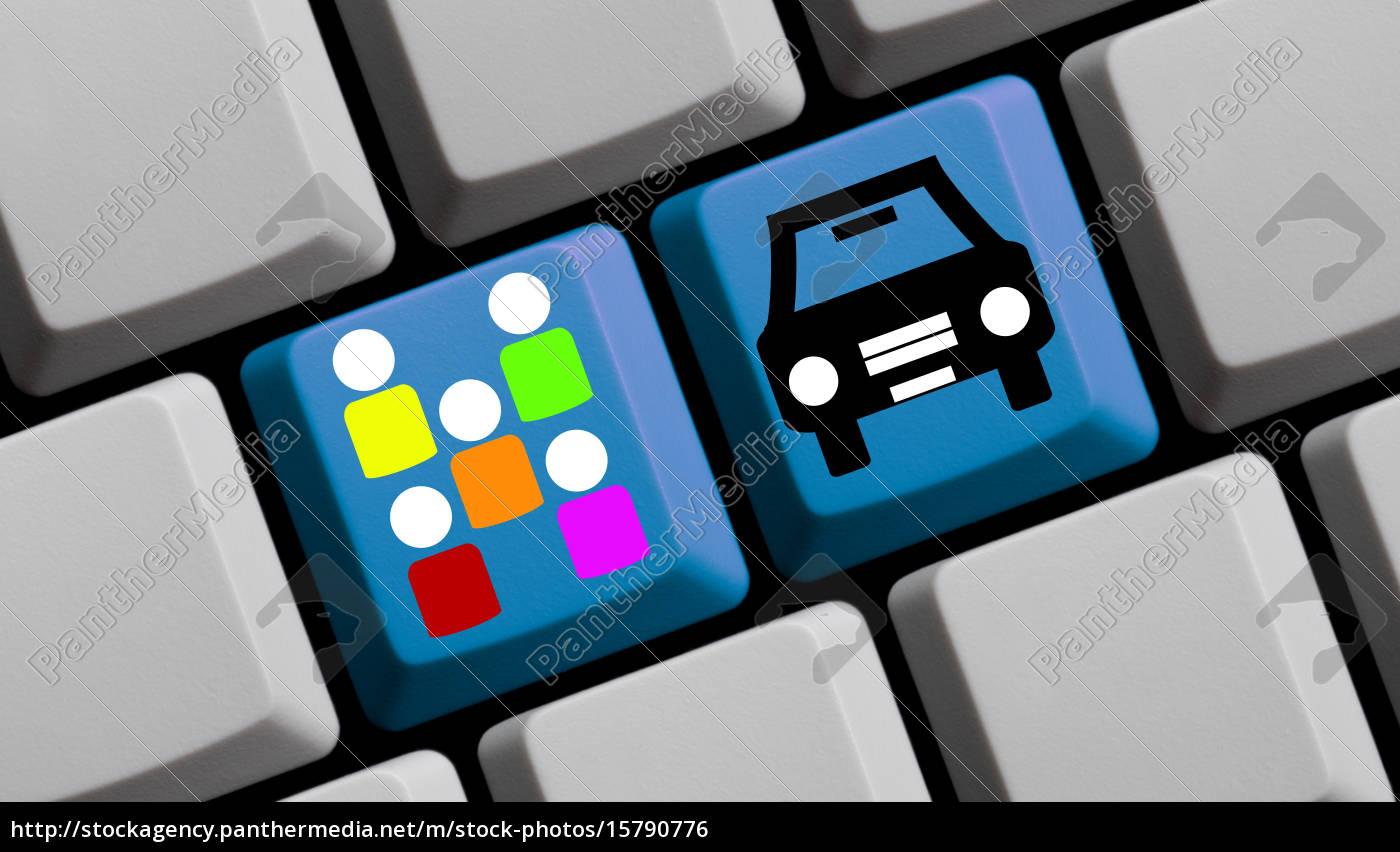 keyboard, carsharing - 15790776