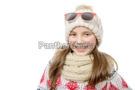 portrait, of, a, happy, young, girl - 15790234