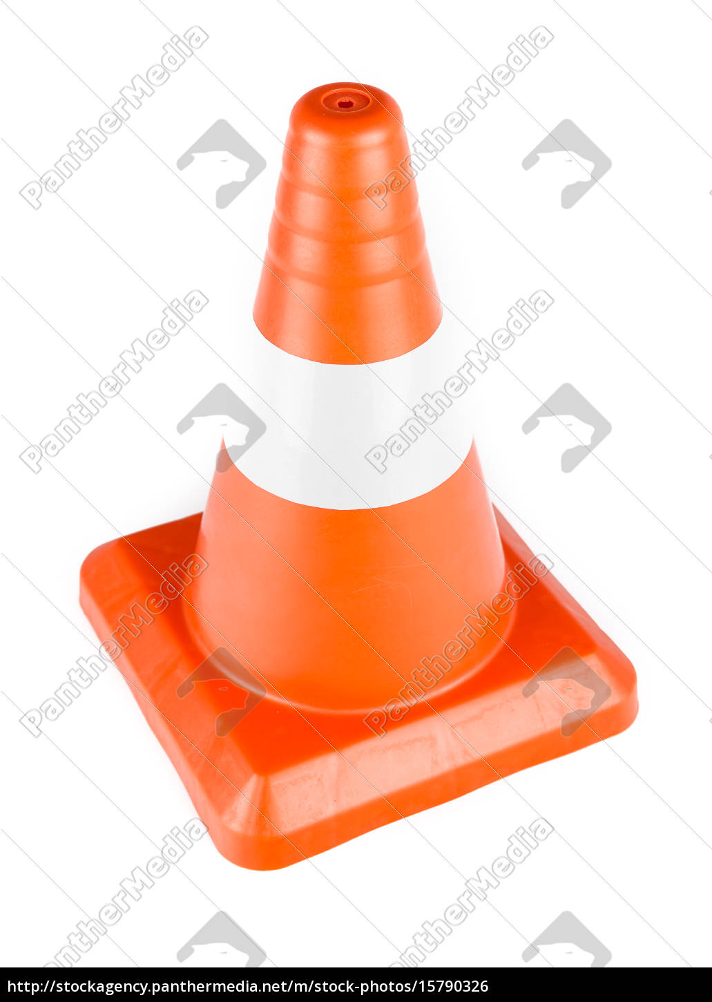 red, reflective, traffic, cone - 15790326