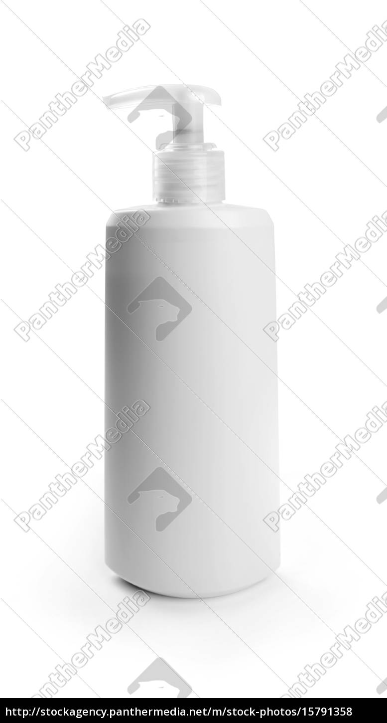 blank, cosmetic, container, isolated, on, white - 15791358