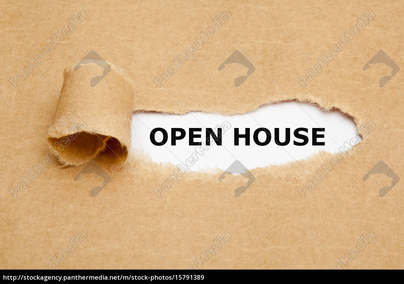 open, house, torn, paper - 15791389