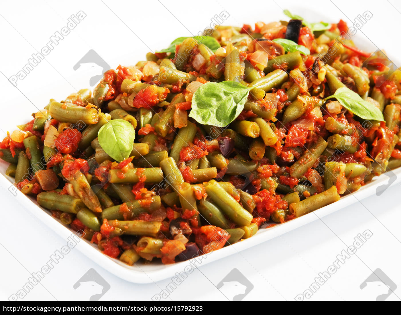 french, beans, and, tomato, casserole, french, beans - 15792923