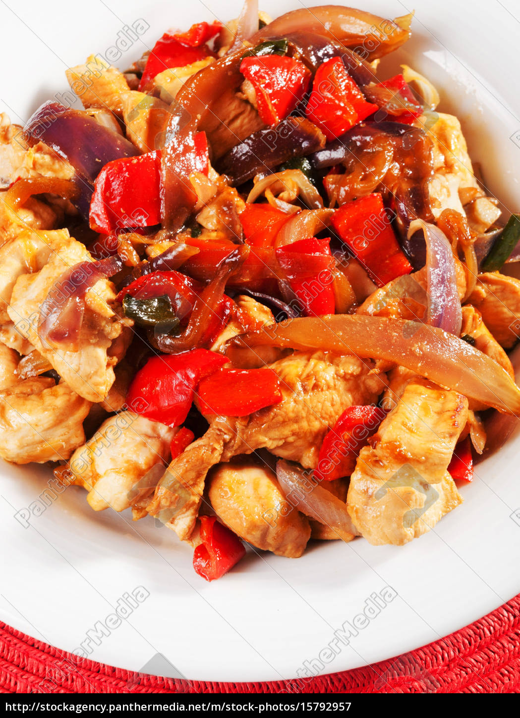 fried, chicken, with, vegetables, fried, chicken, with - 15792957