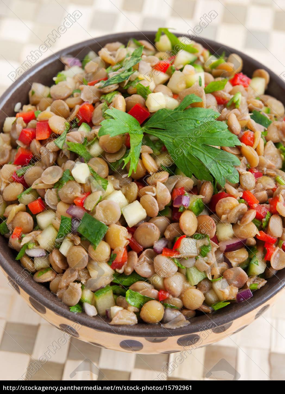 lentil, salad, lentil, salad - 15792961