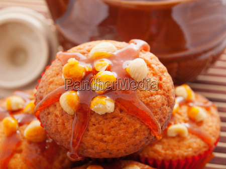 cupcakes, with, hazelnuts, cupcakes, with, hazelnuts, cupcakes, with - 15794601