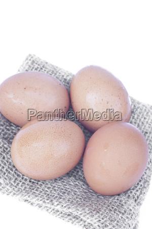 eggs, isolated, on, white, background - 15794333