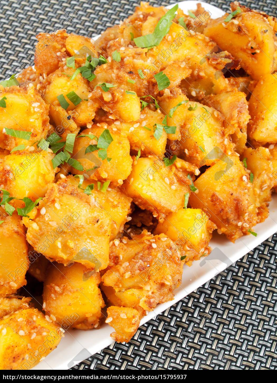 baked, potatos, with, sesame, baked, potatos, with - 15795937