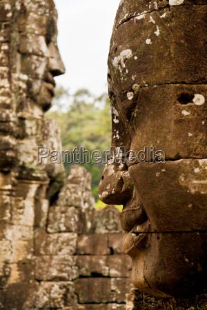 bayon, temple, in, angkor, wat, , cambodia, bayon - 15795577