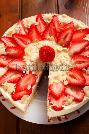 cheesecake, with, strawberries, cheesecake, with, strawberries, cheesecake, with - 15795689