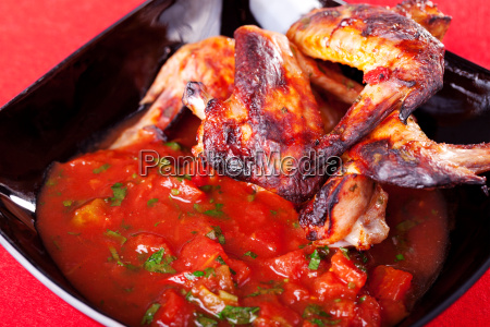 grilled, chicken, wings, with, salsa, grilled, chicken - 15795371