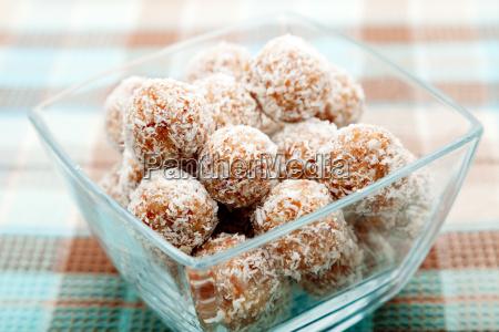 homemade, coconut, candies, homemade, coconut, candies, homemade, coconut - 15795627