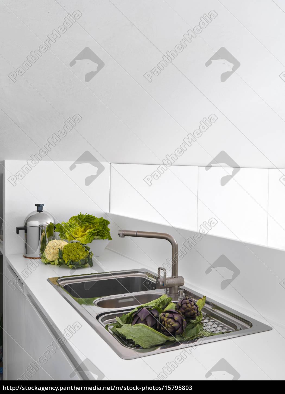 modern, kitchen - 15795803