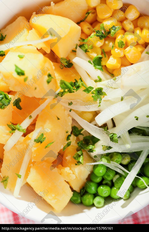 potato, salad, potato, salad, potato, salad, potato, salad - 15795161