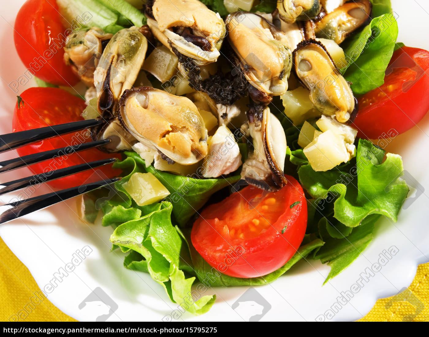seafood, salad, seafood, salad, seafood, salad, seafood, salad - 15795275