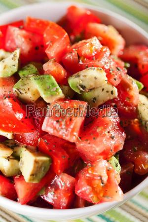 tomato, and, avocado, salad, tomato, and, avocado - 15795503