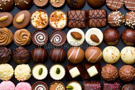 variety, chocolate, pralines - 15795511
